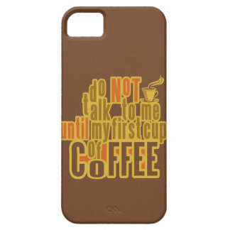 COFFEE FIRST iPhone case-mate