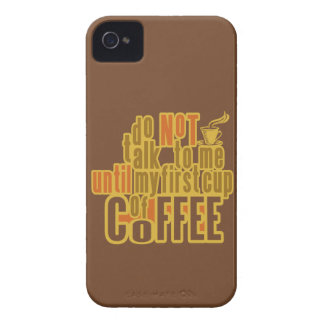 COFFEE FIRST iPhone case-mate iPhone 4 Cases