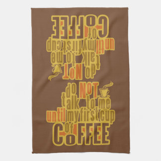 COFFEE FIRST kitchen towel