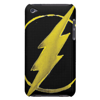 Coffee Flash Symbol - Yellow iPod Touch Case