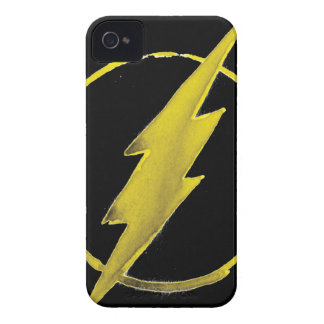 Coffee Flash Symbol - Yellow iPhone 4 Case-Mate Cases