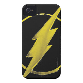 Coffee Flash Symbol - Yellow iPhone 4 Cover