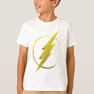 Coffee Flash Symbol - Yellow T-Shirt