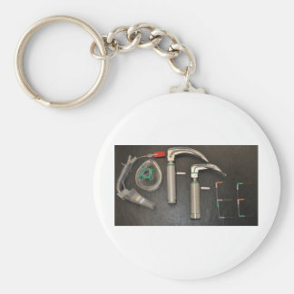 COFFEE FOR ANAESTHETISTS BASIC ROUND BUTTON KEY RING