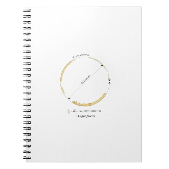 coffee forever notebook