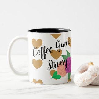Coffee Game Strong Customizable Heart Coffee Mug