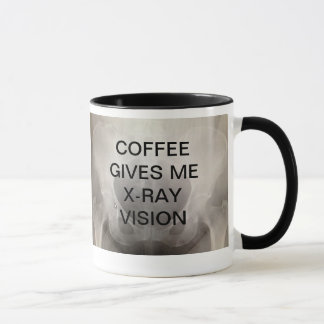 COFFEE GIVES ME X-RAY VISION MUG