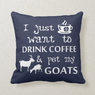 Coffee & Goats Cushion