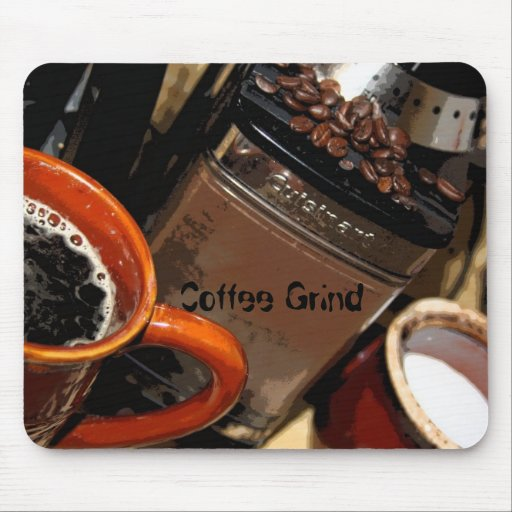 Coffee Grind Mouse Mat