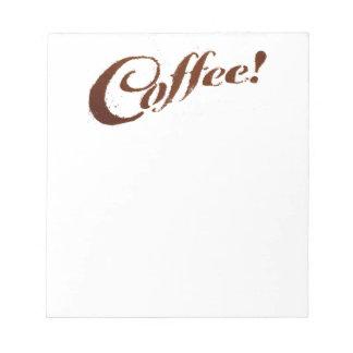 Coffee Grounds Coffee - Notepad