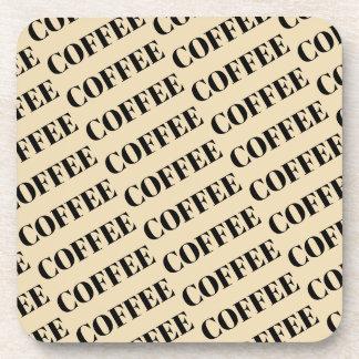 Coffee Hard Plastic Drink Coaster