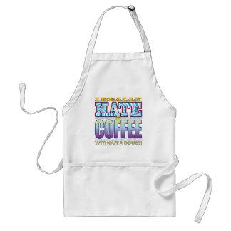 Coffee Hate Face Standard Apron