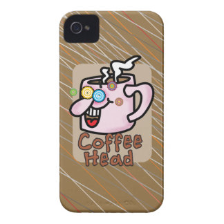 Coffee Head Case-Mate Barely There™ iPhone 4 Cases