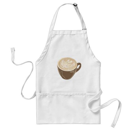 coffee heart art standard apron