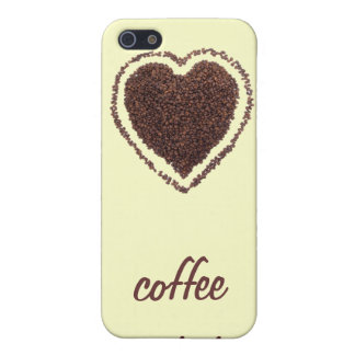 coffee heart case for iPhone 5/5S