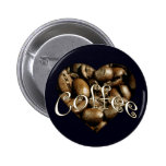 Coffee Heart Pin