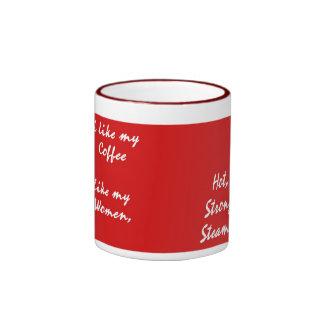 Coffee Hot Ringer Mug