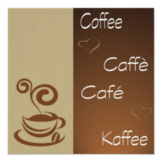 coffee hour card