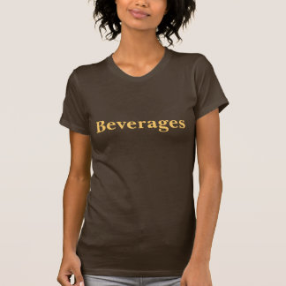 Coffee House Beverages T Shirt. Brown and Mocha Tees