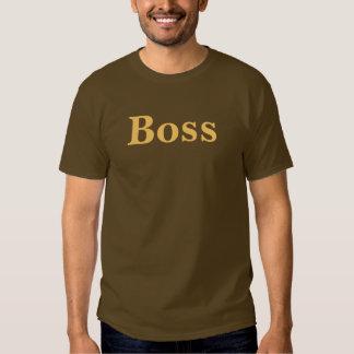 Coffee House Boss T Shirt. Brown and Mocha T Shirt