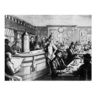 Coffee house, Clerkenwell Postcard