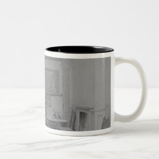 Coffee House in Cleveland Street Two-Tone Coffee Mug