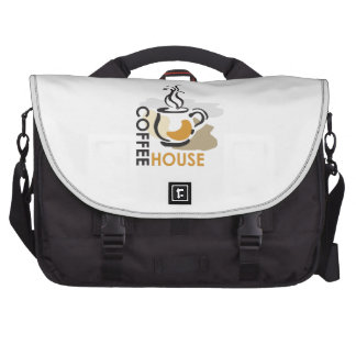 COFFEE HOUSE LAPTOP COMMUTER BAG