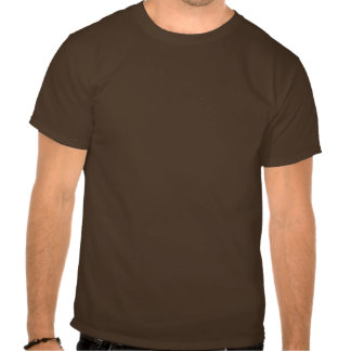 Coffee House Snr Waiter T Shirt. Brown and Mocha T Shirts