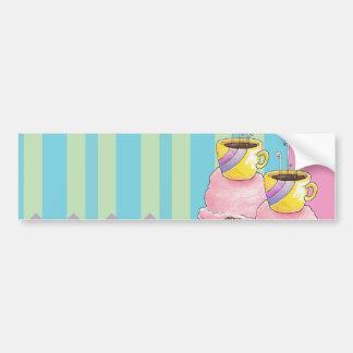 Coffee + Ice Cream = Love A Dreamy Dessert Bumper Sticker