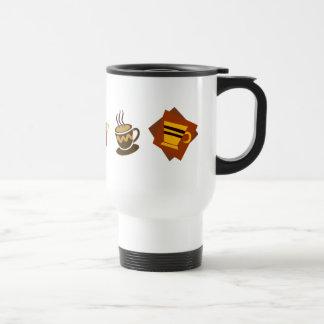 Coffee Icons Travel Mug
