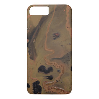 """""""Coffee In Copper"""" Abstract Painting Phone Case"""