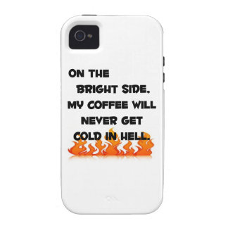 Coffee in Hell iPhone 4 Cases