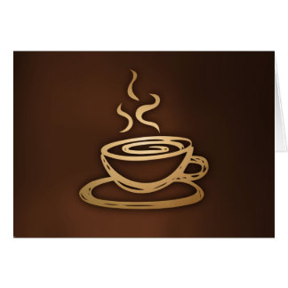 Coffee In My Cup Card