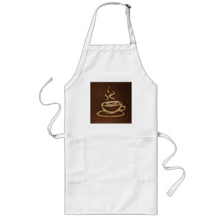 Coffee In My Cup Long Apron