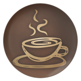 Coffee In My Cup Plate
