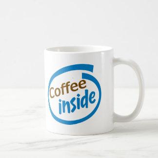Coffee Inside Classic White Coffee Mug