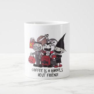 Coffee Is A Ghoul's Best Friend Jumbo Mug