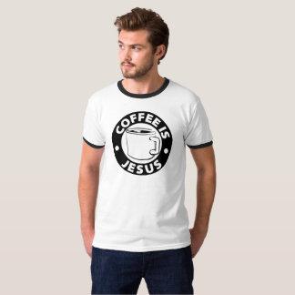 Coffee is Jesus T-shirt