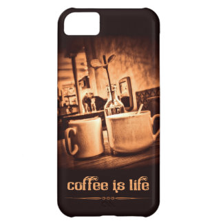 Coffee is Life iPhone 5C Cover