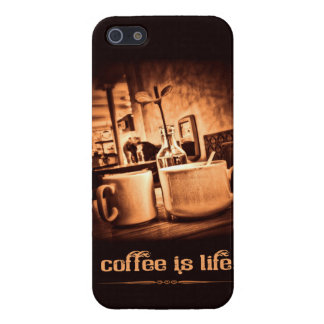 Coffee is Life iPhone 5 Cases