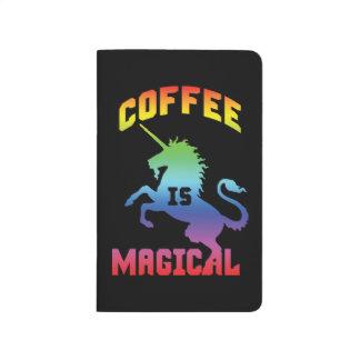Coffee Is Magical - Funny Novelty Caffeine Unicorn Journal
