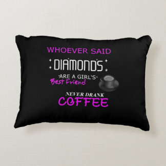Coffee Is My BFF Decorative Cushion