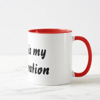 Coffee is my Inspiration Mug
