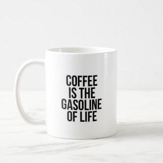 """Coffee Is The..."" - Classic White Mug"