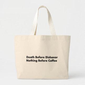 Coffee Jumbo Tote Bag