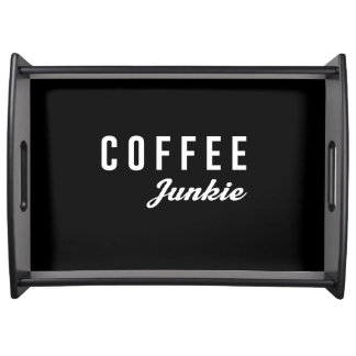 Coffee Junkie Serving Tray