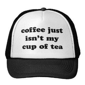 coffee just isn t my cup of tea mesh hat