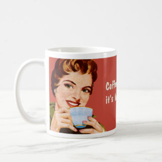 Coffee keeps me busy until it s time to be drunk mug