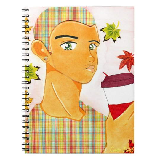 Coffee Kei Spiral Notebook