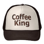 Coffee King Truckers Style Hat